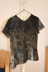 Theyskens-Theory-sequin-blouse-Size-2
