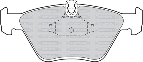 TOURING 1998-00 OEM SPEC FRONT AND REAR PADS FOR BMW 530 2.9 TD E39