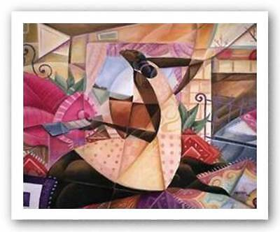 Love Songs Limited Edition Frank Morrison African American Art Print 24x30
