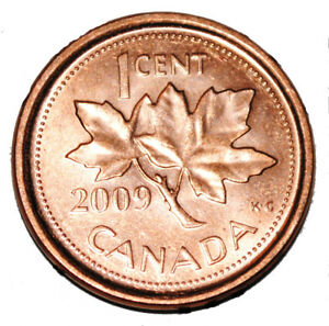 MS CANADA Lot of 2 x 25 cents 2010L