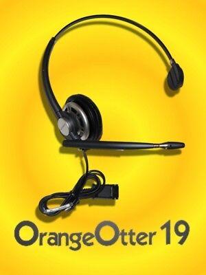 NEW Plantronics HW261N SupraPlus Headset use w M22 M12 /& VOiP Voice Over IP QTY