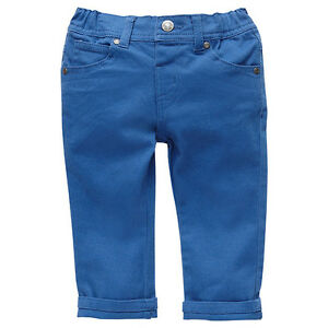 Boys-Brand-New-With-Tags-Delft-Blue-Stretch-Jeans-Pants-Size-6-18-Months