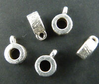 200pcs Tibetan Silver Beautiful Little Bails 8x3mm 8932