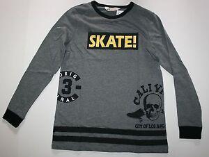 c9cc86109 NEW Boys H&M Top SKATE Skull Los Angeles Graphic Tee NWT Skateboard ...