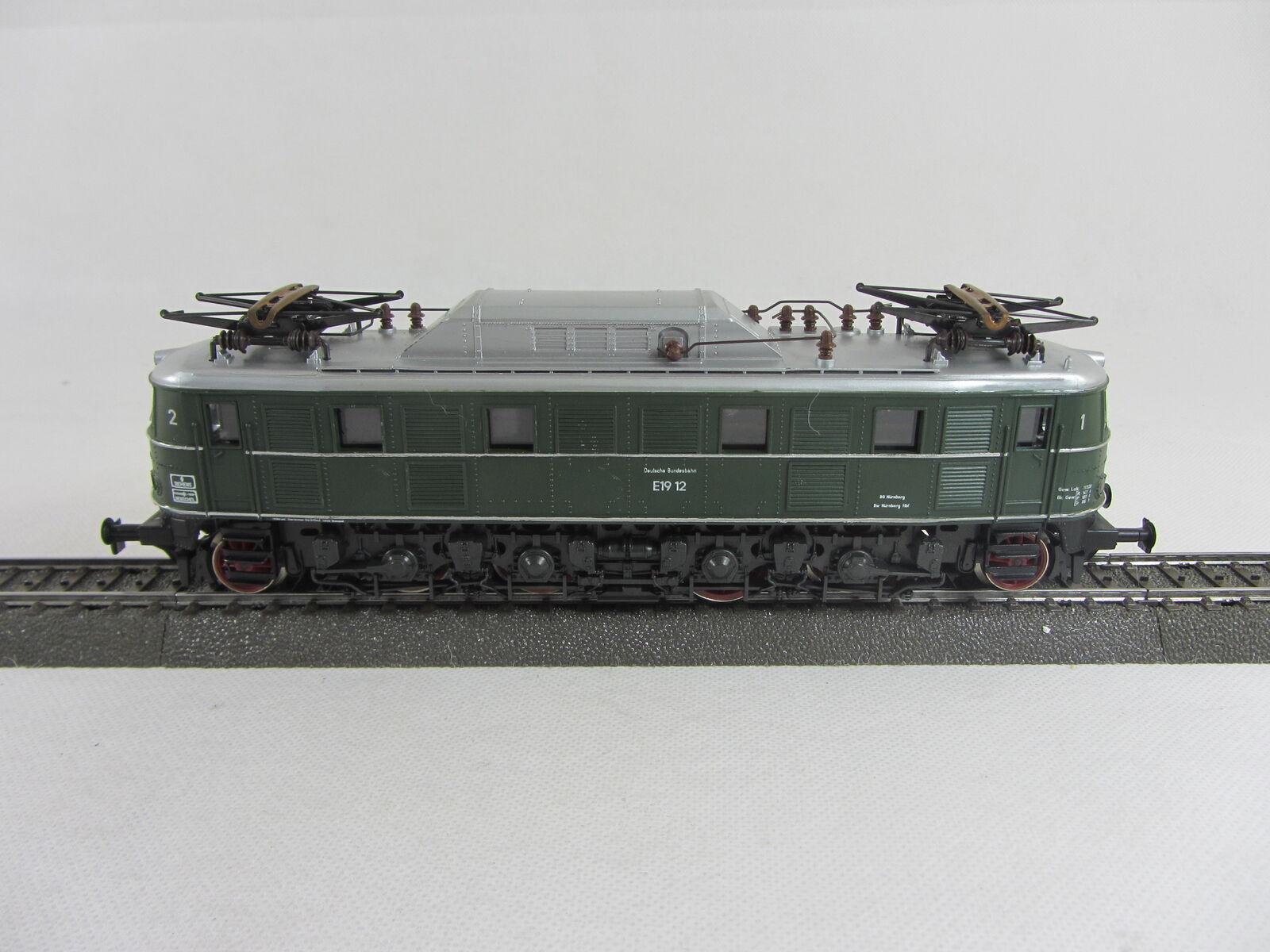 RIVAROSSI 1096 Elektrolok E19 12 der DB in grün guter guter guter Zustand mit OVP  | Ruf zuerst  fdcb71