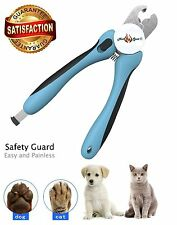 Dog & Cat  Nail Clippers  Better, Safer Dog Grooming Clipper & Trimmers for Pets