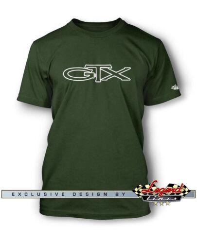 1967-1971 Plymouth GTX Emblem Men T-Shirt Multiple Colors Sizes  Classic Car