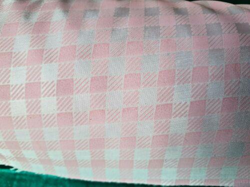 """vestido haciendo Rosa o Lila Craft 25m de 1//4/"""" Cuadros Guinga Tela uniforme"""
