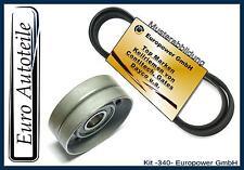 Keilrippenriemen+Spannrolle OPEL-VAUXHALL-ASTRA G-H-COMBO-CORSA 1.7 CDTI 16V