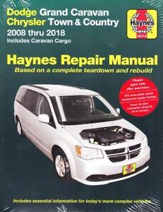 2008 2018 caravan town country haynes repair service workshop rh ebay com 2008 dodge grand caravan owner's manual 2008 dodge grand caravan repair manual