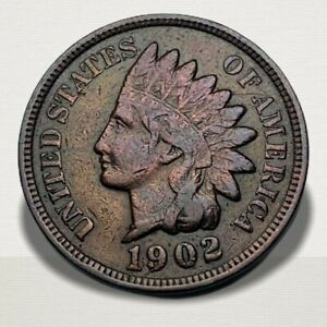 1902-Indian-Head-Cent-VF-XF