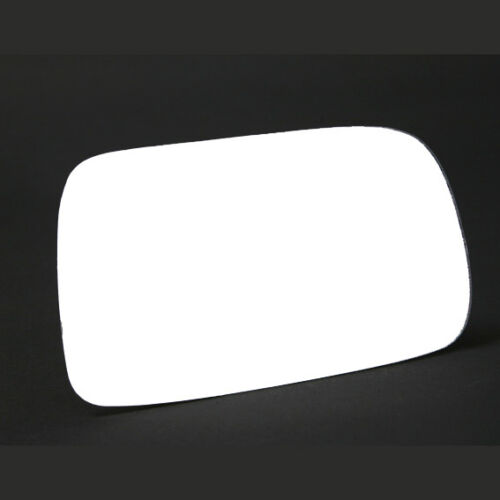 RH Toyota Corolla 1997 to 2000 Convex Stick On Wing Mirror Glass Drivers Side