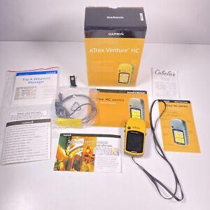 Garmin eTrex Venture HC Handheld Satellite GPS Geocaching Hunting Fishing Color