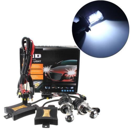 55W H4 6000K HID Dual Beam Hi//Lo Bi-Xenon Headlight Bulb Conversion Ballast 12V