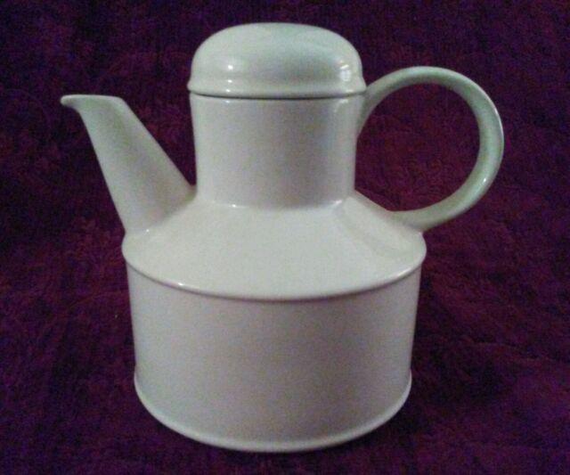 W R Midwinter Ltd STONEHENGE WHITE Tea Pot - FREE U.S. SHIP