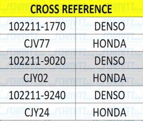Honda S2000 2.0 y 2.2 VTEC AP1 AP2 AP 99-2009 Genuino Rmfd Alternador F20C F22C1