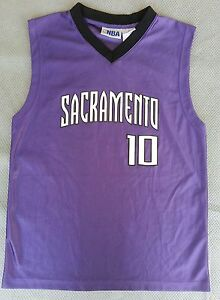 watch 30cc7 62c98 Details about Pre-Owned Mike Bibby Sacramento Kings Jersey Boys Size L  (14-16)
