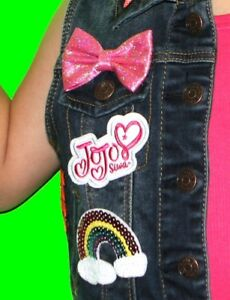 544417cb9 JoJo Siwa iron on patch ONLY. Embroidered applique patch, logo, jojo ...
