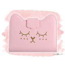 Planner binder A6/personal cat in pink/gold (Kikki K Filofax Agenda Dokibook)