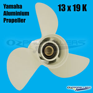 13-x-19-k-For-Yamaha-PROP-PROPELLER-NEW-Aluminium-Suits-50-140HP-Outboards