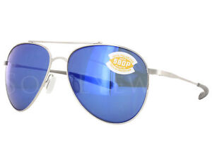 852aee7180b NEW Costa Del Mar Cook Brushed Palladium  Blue Mirror COO21 OBMP ...