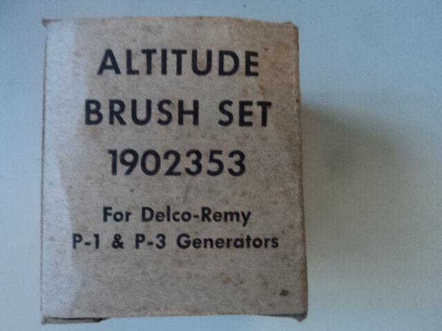 DELCO-REMY GENERATOR BRUSH SET P//N 1902353