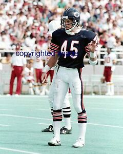 huge selection of a04b4 3d19a Details about Gary Fencik 1976-87 Chicago Bears Color 8x10 A