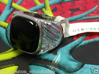 Silver Plated Mens Ring Size 10 With Simulated Black Onyx