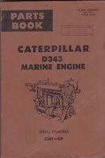 CATERPILLAR D343 MARINE ENGINE