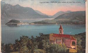 R258584 Lago di Como. bellagio colla veduta del Lago FINO un Lecco. 313 H Brunne