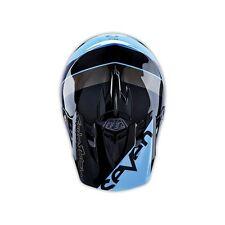 Troy Lee Designs SE3 Seven Surge Blue MX Helmet Adult Medium TLD Motocross JS7
