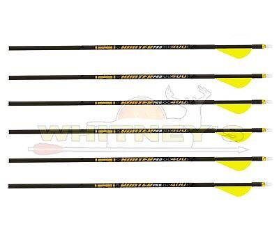 Pack of 6 Gold Tip Ted Nugent Arrows with Raptor Vane