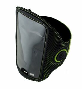 Griffin-LightRunner-Flashing-ArmBand-for-Phones-up-to-5-5-inch-Black-Green