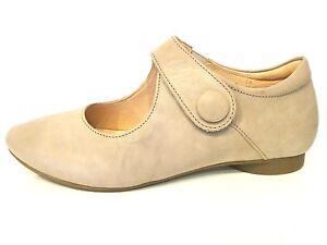 Details zu Think Schuhe Guad Slipper Ballerina beige macchiato Leder bequem Einlagen