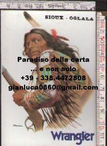 ADESIVO-STICKER-jeans-Wrangler-indiano-Sioux-Oglala