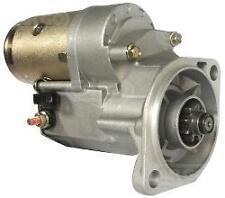 Isuzu Industrial Hyster Forklift Bobcat Starter Motor Perkins 9 teeth 12 Volt