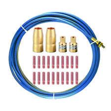 Mig Gun Kit Fits Miller M 100m 150 M10 M15 Tip Nozzle Adapter Liner M33l