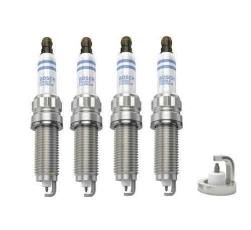 Spark Plugs x 4 Bosch Platinum Fits BMW 1 2 3 4 5 Series X1 X3 X4 X5 Z4 F20 21