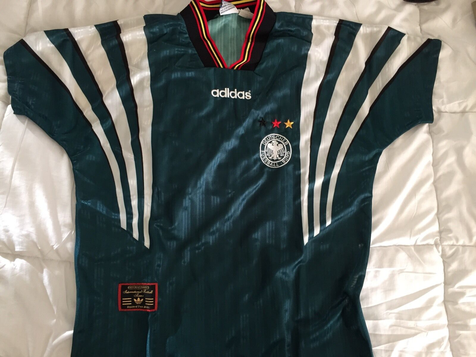 Germany 9698 Jersey Away Adidas Official Dimensione  GL Original Soccer Germany