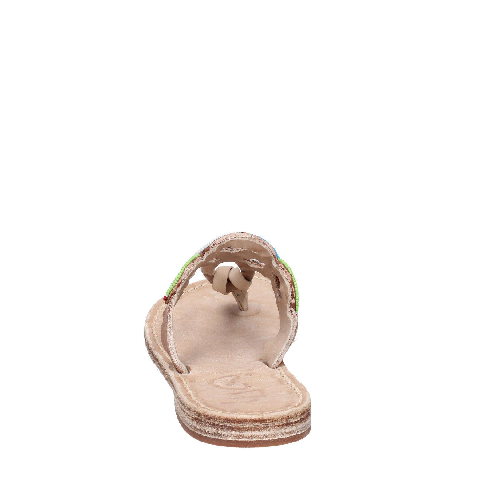 Damen schuhe EDDY perlen DANIELE 37 EU Sandale Mehrfarbig leder perlen EDDY AS83 367f23