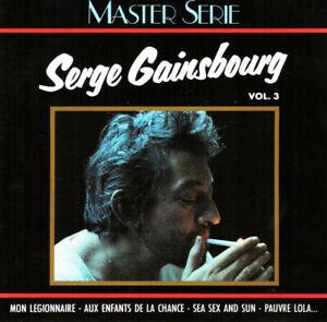 Serge-Gainsbourg-CD-Serge-Gainsbourg-Vol-3-France-EX-EX