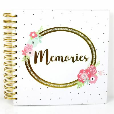 Simply Creative Scrapbook Memory Photo Kraft Album Memories 8x8 Ebay