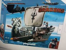 BNIB Playmobil 9244 HOW TO TRAIN YOUR DRAGON Drago/'s Ship with Cannons set