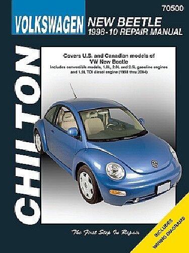 Repair Manual-TDI Chilton 70500 fits 98-02 VW Beetle