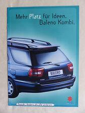 Suzuki Baleno Kombi - Prospekt Brochure 07.1996