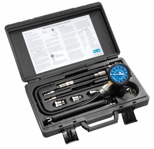 OTC Compression Tester Kit Automotive Car Gas Engine Compression Test Tool Gauge