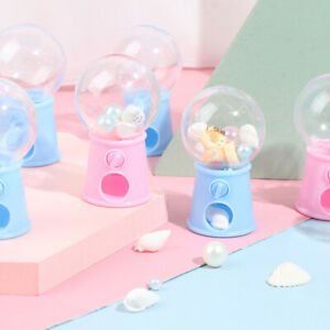 Mini Candy Machine Bubble Gumball Dispenser Coin Bank Kids Toy Chrismas Gifts OK
