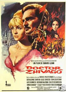 Doctor Zhivago Omar Sharif Repro Film POSTER