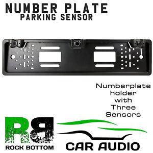 Cisbo marrón Color Reverso Estacionamiento 4 Sensores De Audio Zumbador Alarma Pantalla Led