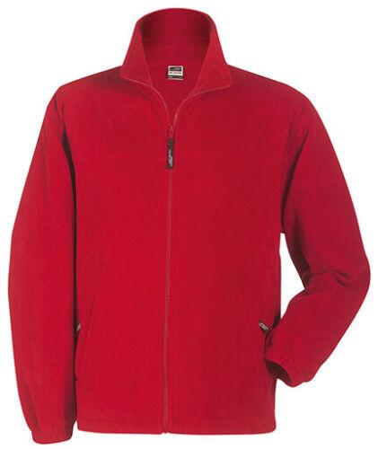 Kinder Fleece Jacke Sweatjacke Sweatshirt Sweater James /& Nicholson
